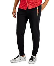 Boss Men's Flame Logo Sweatpants, Created for Macy's