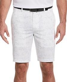 Men's Seersucker Bamboo Print Shorts