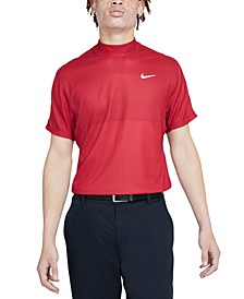 Men's Dri-FIT Tiger Woods Mock-Neck Golf Shirt