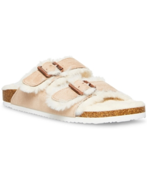 Butterfly Fluffy Footbed Sandals