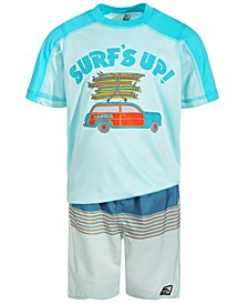 Toddler and Little Boys The Woody Swim Set