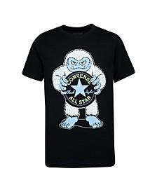 Big Boys Chuck Patch Logo Graphic T-shirt