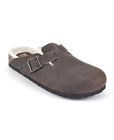 Bari Women's Footbed Mules