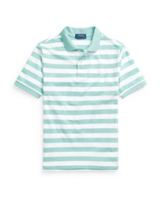 폴로 랄프로렌 보이즈 폴로티 Polo Ralph Lauren Big Boys Striped Cotton Mesh Polo Shirt