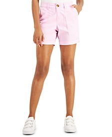 Petite Roll-Cuffed Shorts, Created for Macy's