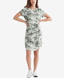 Cloud Camo-Print Dress