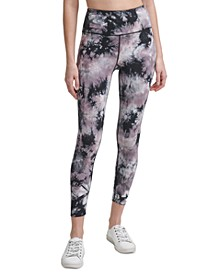 Oslo Tie-Dyed High-Waist Leggings
