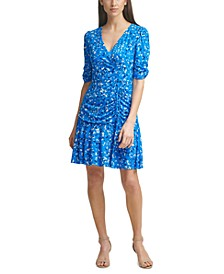 Ruched A-Line Dress