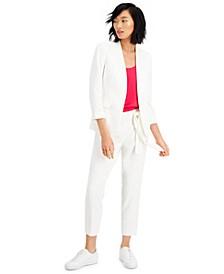 3/4 Sleeve Blazer, Camisole & Dress Pants, Created for Macy's