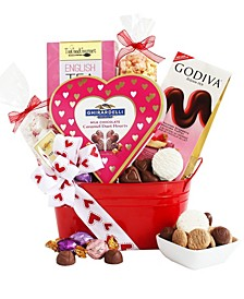 Valentine's Day Gourmet Goodies Gift Tin