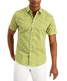 Men's Brit Ditsy Short Sleeve Shirt, Created for Macy's