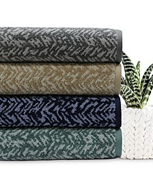 Ultimate Micro Cotton® Herringbone Bath Towel Collection, Created for Macy's