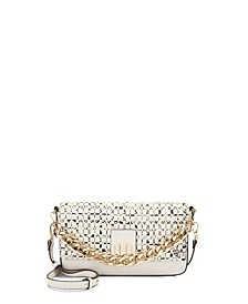 INC Edenne Woven Baguette Crossbody, Created for Macy's