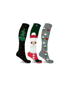 Men's and Women's Christmas Treats Knee High Compression Socks