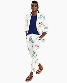 Men's Tropical Floral Print Pants, Created for Macy's