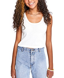 Juniors' Del Ray Cropped Tank Top