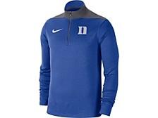 Duke Blue Devils Men's Colorblock Fan Fav Dri Quarter-Zip Pullover