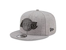 Los Angeles Lakers Heather Metal 9FIFTY Cap