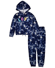 Big Girls Hoodie and Jogger, Set of 2