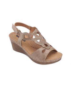 Paulette Wedge Sandal Women's Shoes