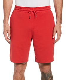 Men's Slim-Fit Solid French Terry Shorts