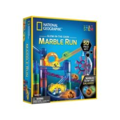 National Geographic Glow-in-the-Dark Marble Run 50 piece