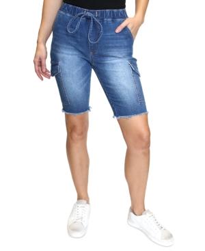 Juniors' Cargo Bermuda Shorts