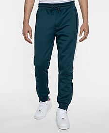 Men's Logo Taping Neoprene Track Pant