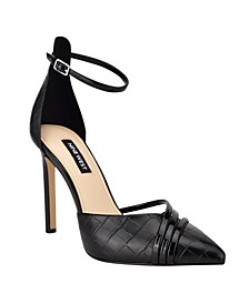 Women's Taunt Ankle Strap Stiletto Pumps
