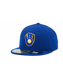 New Era Milwaukee Brewers Authentic Collection 59FIFTY Hat