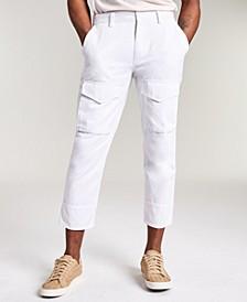 Men's Bleeker Solid Crop Pants, Created for Macy's