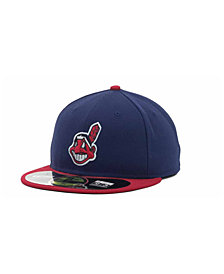 New Era Cleveland Indians Authentic Collection 59FIFTY Hat
