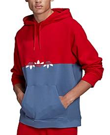 Men's Sliced Trefoil Pullover Hoodie