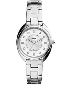 Women's Gabby Silver-Tone Stainless Steel Bracelet Watch 34mm