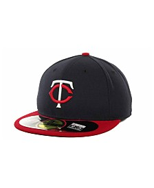 New Era Minnesota Twins Authentic Collection 59FIFTY Hat
