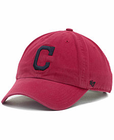 '47 Brand Cleveland Indians Clean Up Hat