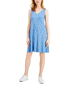 Printed Flip Flop Dress, Created for Macy's