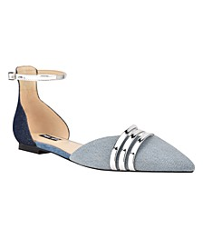 Women's Brana Ankle Strap Flats
