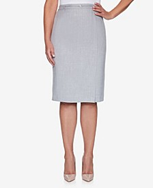 Plus Size French Bistro Skirt