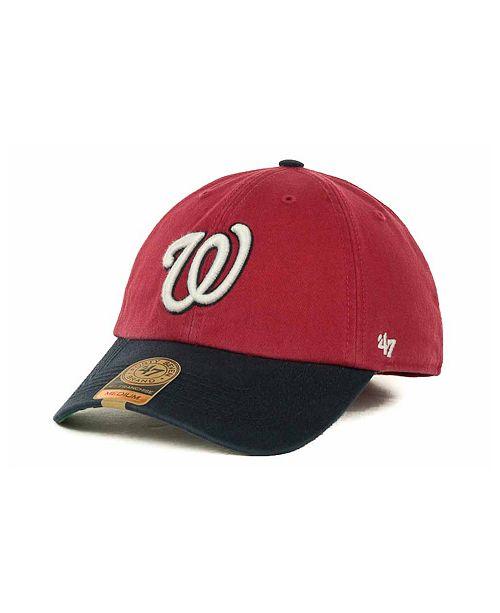 '47 Brand Washington Nationals '47 Franchise Cap