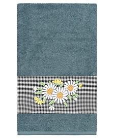Daisy Embellished Bath Towel