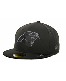 New Era Carolina Panthers Black Gray 59FIFTY Hat