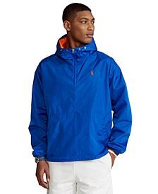 Men's Water-Repellent Popover Jacket