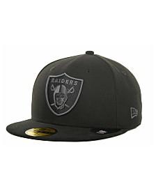 New Era Oakland Raiders Black Gray 59FIFTY Cap