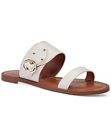 Women's Harlow Buckled Logo Sandals