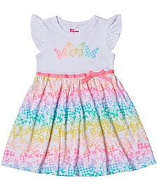 Little Girls Short Sleeve Tutu Dress