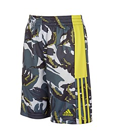 Big Boys Aeroready Action Camo Shorts