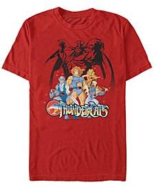 Men's Thundercats Thundercats Group Shot Short Sleeve T-shirt