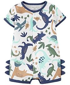 Baby Boys Dinosaur Romper