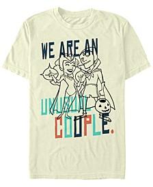 Men's WandaVision Unusual Couple Short Sleeve T-shirt